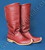Обувь России 15-17 веков