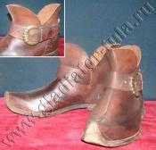 Обувь Европы 15-17 веков