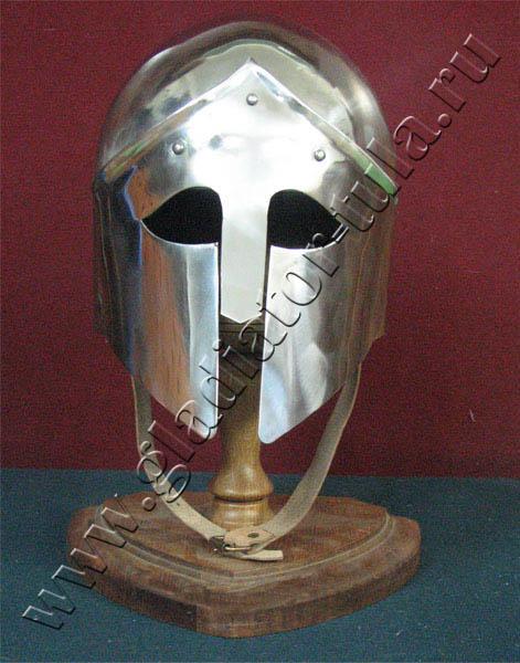 Купить клинковое оружие оптом и в розницу оптом и в ...: http://gladiator-tula.ru/katalog/shlemy-antichnosti/shlem-grecheski-beotiski-h-001