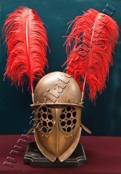 Купить клинковое оружие оптом и в розницу оптом и в ...: http://gladiator-tula.ru/katalog/shlemy-antichnosti/shlem-gladiatora-provocatora-h-009