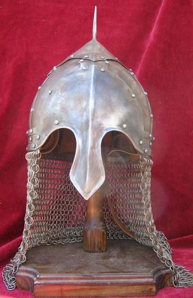 39Своими руками шлем богатыря
