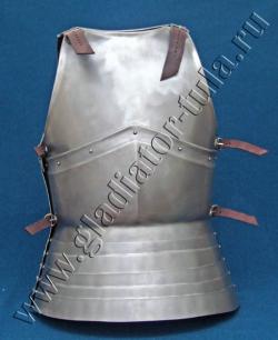 Кираса двухсегментная с увеличенной юбкой
