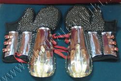 Защита рук, наручи + рукавицы