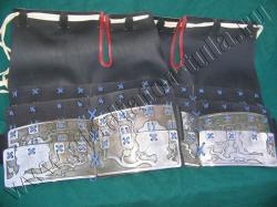 Набедренники самурая ламенарные (пара)