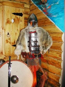 Костюм-доспех воина Княжеской Руси 11 века.