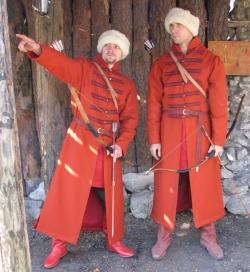 Стрелецкие костюмы России 17 века.