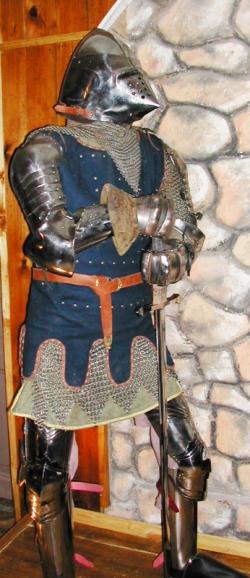 Доспех Рыцаря 14 века.