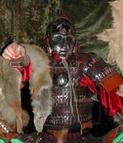 Доспех воина Золотой Орды 14 века.