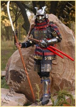 Комплект доспехов и вооружения самурая