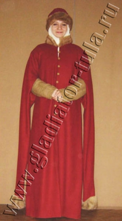 Костюм женский средневековый