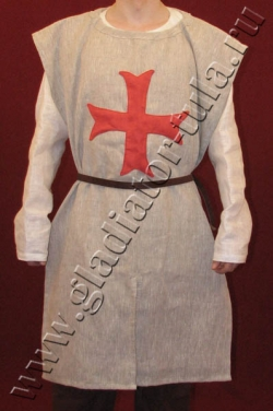 Костюм рыцарский XIII в с символикой ордена