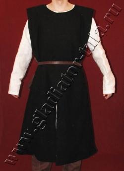 Котта рыцарская суконная на подкладке