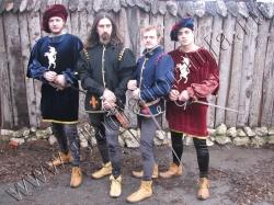 Коллекция мужских средневековых костюмов