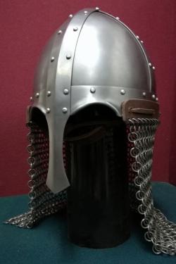 Шлем викинга, каркасный с наносником