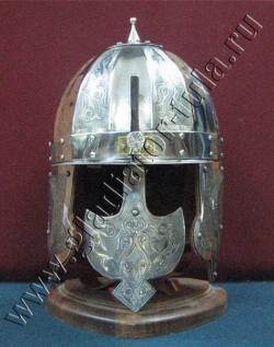 Шлем Князя, Ерихонка (шишак) с гравировкой