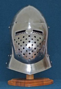 Шлем рыцарский,  ГрандБацинет