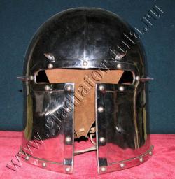 Шлем Барбют с шипами