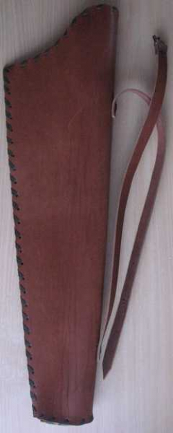 Колчан для стрел кожаный